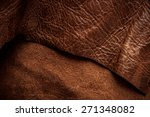 Постер, плакат: Dark Brown Leather and