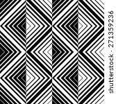 seamless square pattern. black... | Shutterstock .eps vector #271359236