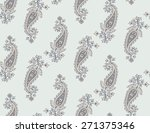 seamless pattern based on... | Shutterstock .eps vector #271375346