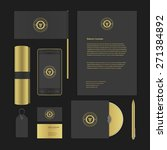 luxury logotype presentation... | Shutterstock .eps vector #271384892