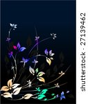 floral decorative pattern. many ... | Shutterstock .eps vector #27139462