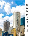the sao paulo city in south... | Shutterstock . vector #271424132