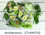 Collection Of Green Vegetables...