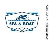 boat logo   brand identity for... | Shutterstock .eps vector #271447892