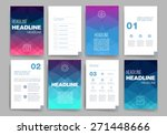 templates. design set of web ... | Shutterstock .eps vector #271448666