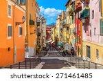 nice  france   august 23  2014  ... | Shutterstock . vector #271461485