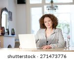 portrait of a mid adult woman...   Shutterstock . vector #271473776