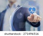 health application touchscreen... | Shutterstock . vector #271496516