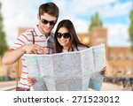 travel  travelling  summer. | Shutterstock . vector #271523012