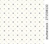 seamless geometric pattern.... | Shutterstock .eps vector #271538132