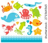 a cartoon vector illustration...   Shutterstock .eps vector #271564565