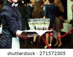 catering or celebration concept.... | Shutterstock . vector #271572305
