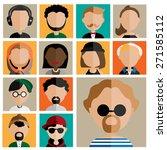 diversity interracial community ... | Shutterstock .eps vector #271585112