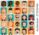 diversity interracial community ... | Shutterstock .eps vector #271591436