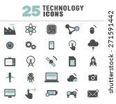 technology innovation... | Shutterstock .eps vector #271591442