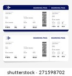 Airline Boarding Pass Ticket...