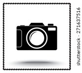 photo camera sign icon  vector... | Shutterstock .eps vector #271637516