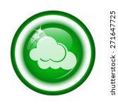 clouds icon. internet button on ...   Shutterstock . vector #271647725