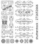 vintage frames and elements two | Shutterstock .eps vector #271652666