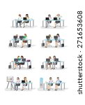 business people  different... | Shutterstock .eps vector #271653608