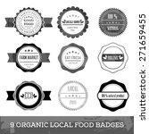 organic fresh local food...   Shutterstock .eps vector #271659455