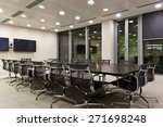 interior of an empty modern... | Shutterstock . vector #271698248