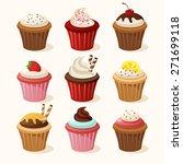 Various Type Of Cupcake  ...