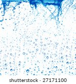 water bubbles isolated on white ... | Shutterstock . vector #27171100