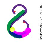 eight number symbol. vector... | Shutterstock .eps vector #271716182