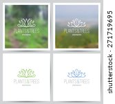 logo set of nature and ecology... | Shutterstock .eps vector #271719695