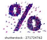 symbols of people | Shutterstock . vector #271724762