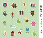 Nature Themed Stickers  2