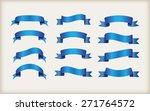 ribbon set.ribbon banner vector ... | Shutterstock .eps vector #271764572