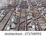 Rail Tracks In Depot. Kiev ...