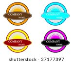 vector logo elements | Shutterstock .eps vector #27177397