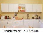interior of a modern kitchen   Shutterstock . vector #271776488