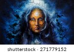 Mystic Face Women  With...