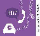 communication design over...   Shutterstock .eps vector #271801676