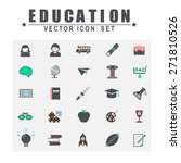 education studying learning... | Shutterstock .eps vector #271810526