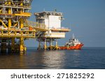 offshore oil and gas production ... | Shutterstock . vector #271825292