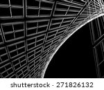 abstract architectural 3d... | Shutterstock . vector #271826132