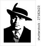 chicago gangster | Shutterstock .eps vector #27182623