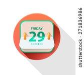 vector calendar icon on white...