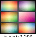vector geometric triangles...   Shutterstock .eps vector #271839908