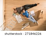 view from above  looking at the ... | Shutterstock . vector #271846226