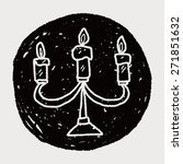 candle doodle | Shutterstock . vector #271851632