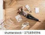 view from above  looking at the ... | Shutterstock . vector #271854596