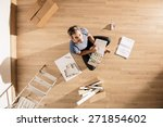 view from above  looking at the ... | Shutterstock . vector #271854602