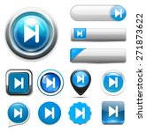 media player button | Shutterstock . vector #271873622