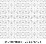 rhythm soft gray color mosaic... | Shutterstock .eps vector #271876475